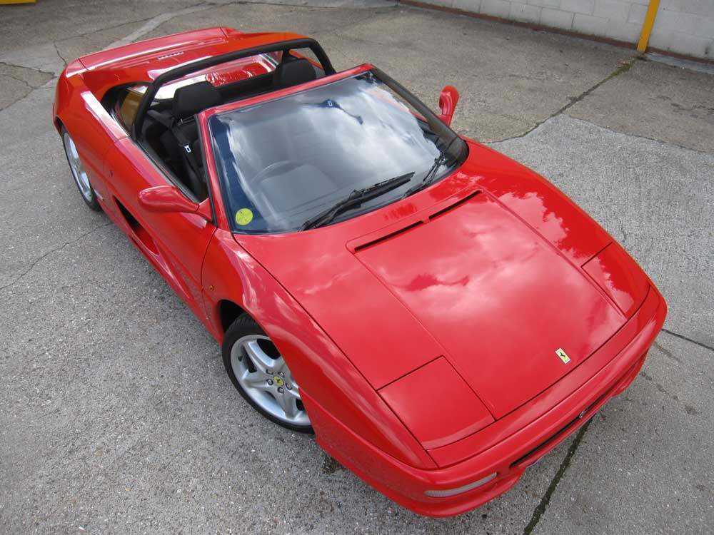 Just arrived and in the showroom now 1995 one owner 355 GTS
