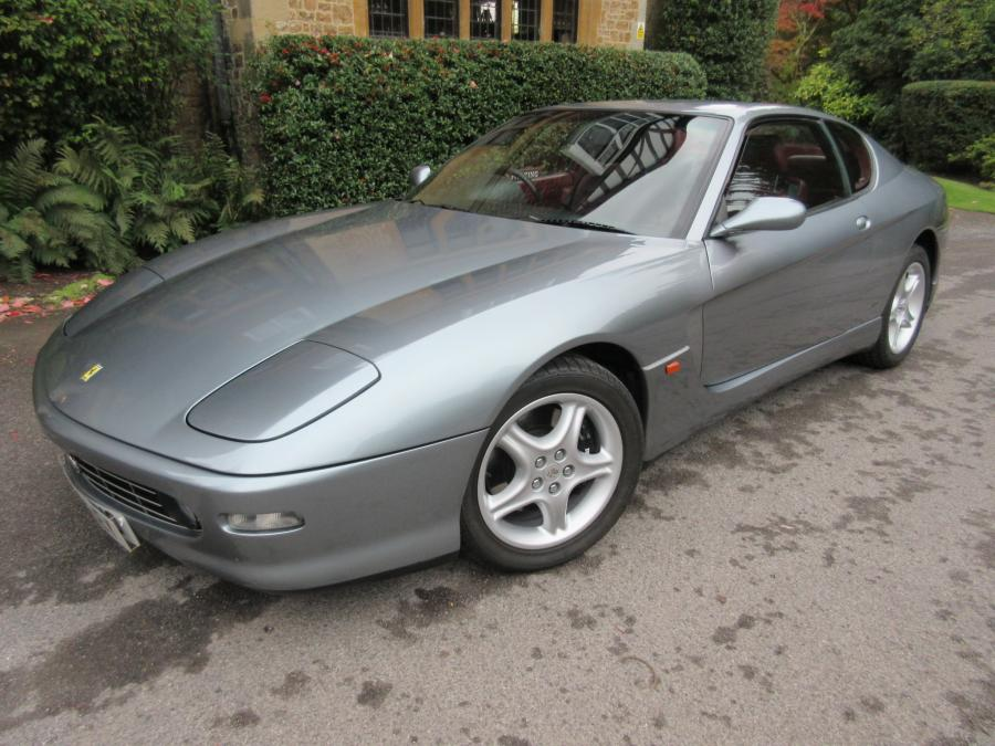 SOLD-ANOTHER REQUIRED 2002 Ferrari 456 M GT 6-speed manual-unique