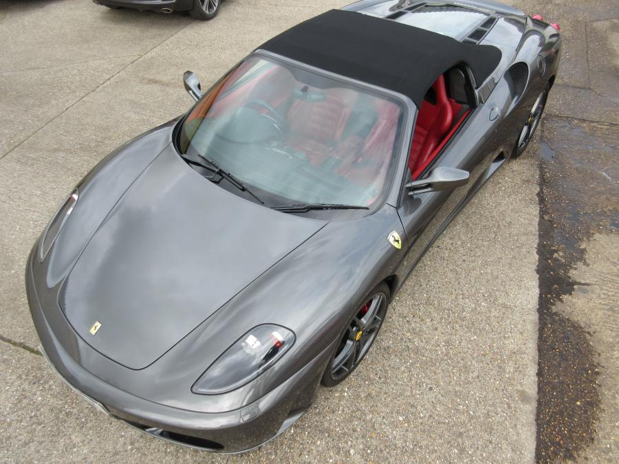 2008 Ferrari 430 F1 spider with sports seats and carbon fibre