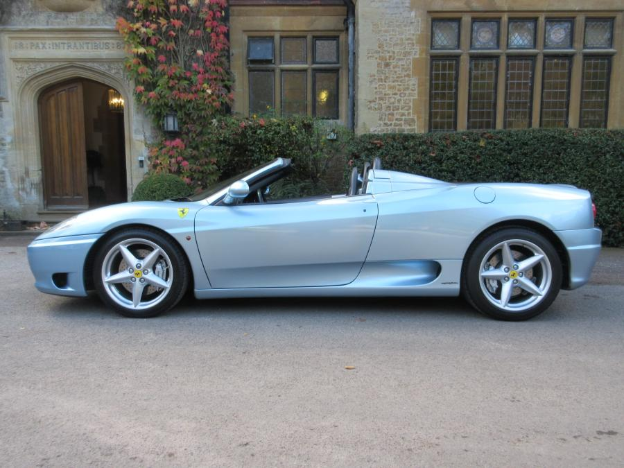 SOLD-ANOTHER REQUIRED 2002 Ferraro 360 F1 spider