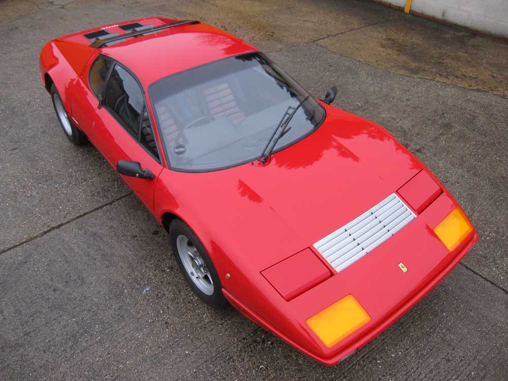 1984 Ferrari 512 BBi-The very last 512BB imported into the UK.
