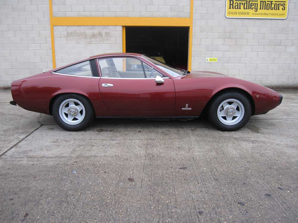 1972 Ferrari 365 GTC/4 update of history