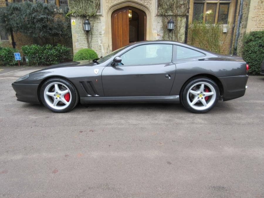 SOLD-ANOTHER REQUIRED 2002 Ferrari 550 Maranello