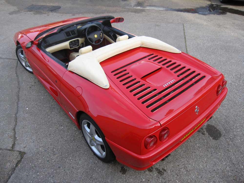 1997 Ferrari 355 Spider-11,900 miles!