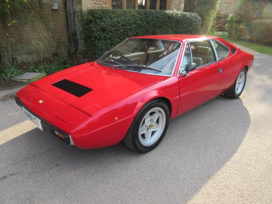1976 Dino Ferrari 308 GT4-early Dino badged car