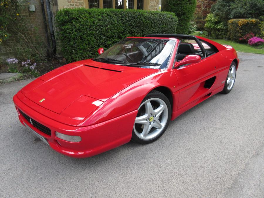 1997 Ferrari 355 GTS manual-three owners