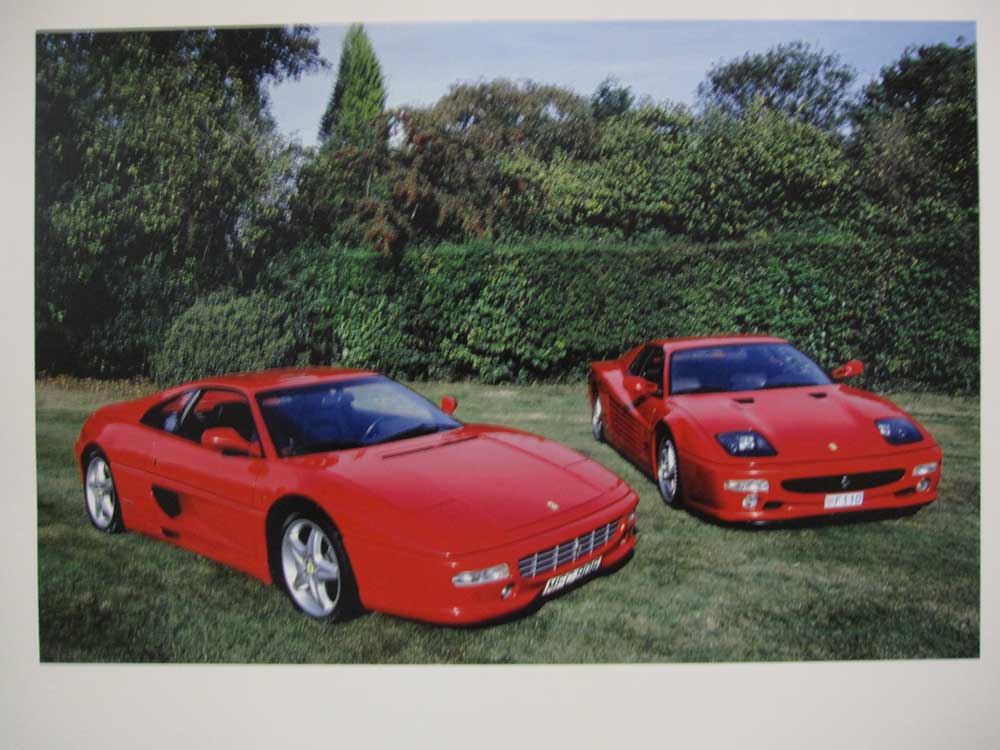 1998 Ferrari 355 B F1 and 512 M. Both left hand drive and two owners