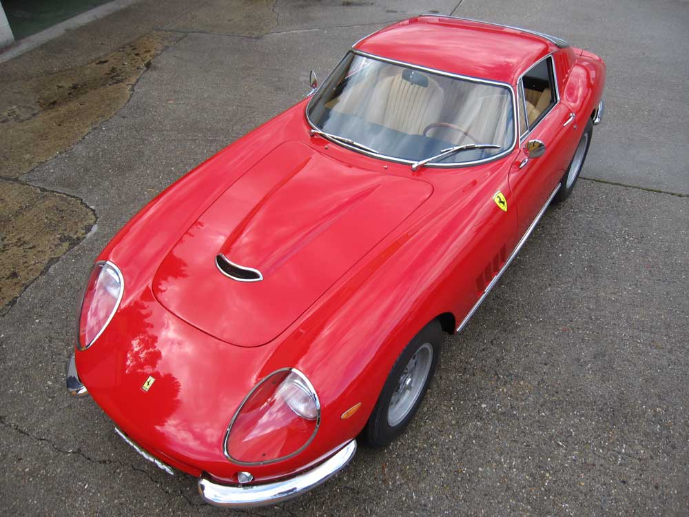 1966 Ferrari 275 GTB Alloy bodied Three carburettor.