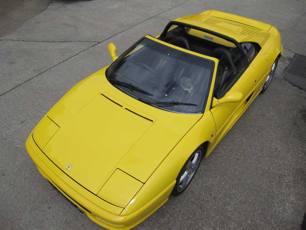 1995 Ferrari 355 GTS-sports seats and only 26k miles