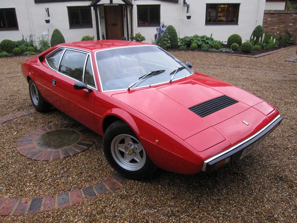 1980 Ferrari 308 GT4 with 23,000 recorded miles