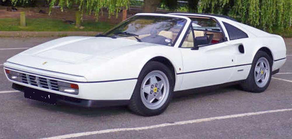 1989 White Ferrari 328 GTS - Left hand drive