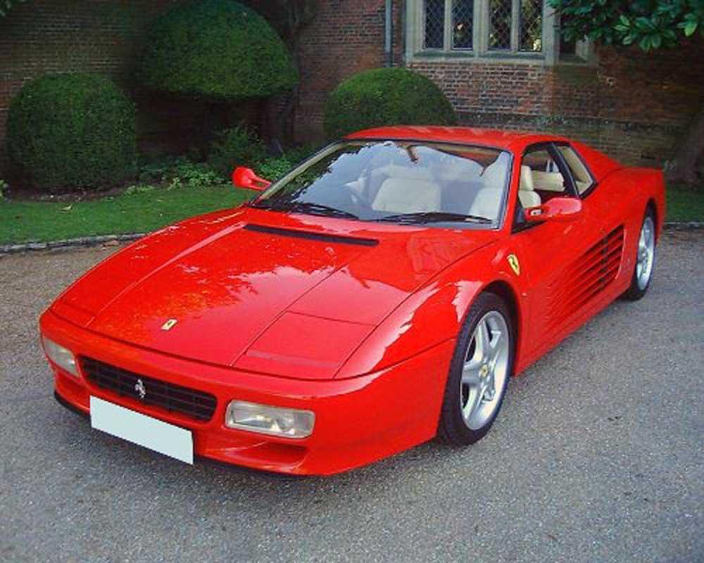 1992 Ferrari 512 TR-2,500 miles!