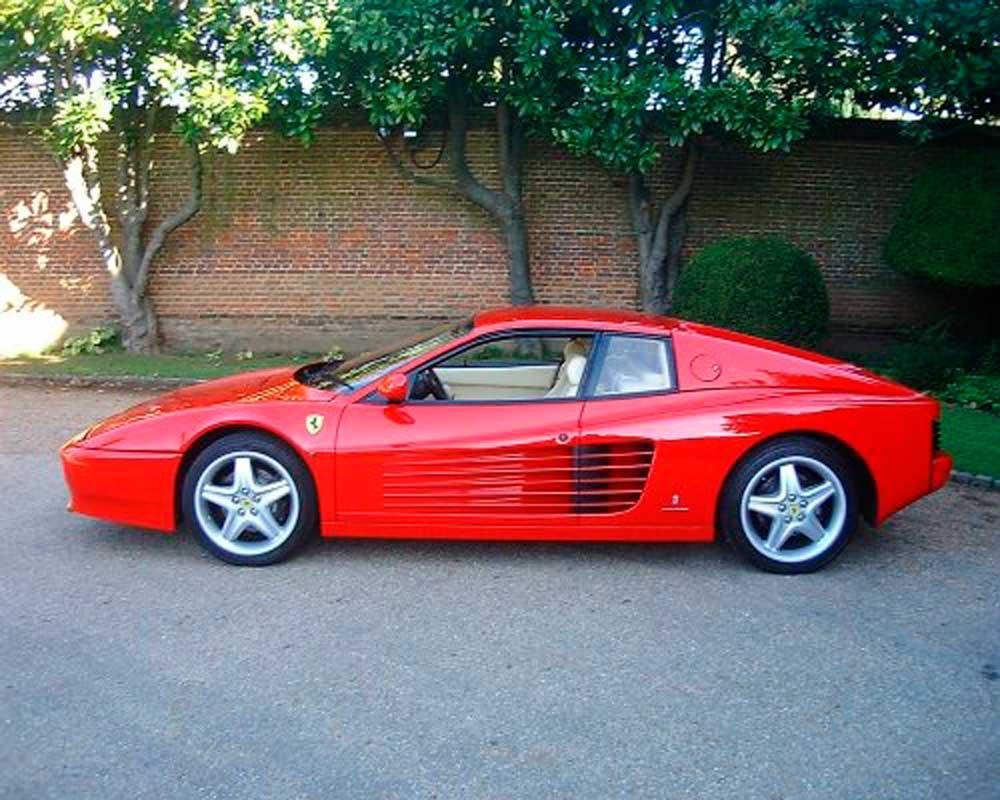 1991 Ferrari 512 TR-2,500 miles!