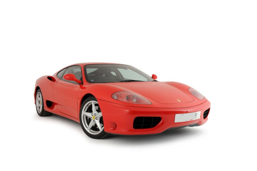 2001 Ferrari 360 Modena manual.Two owners/10,000 miles