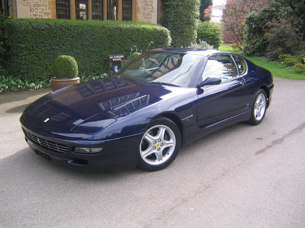 1995 Ferrari 456 GT-six speed manual with 68,000 miles
