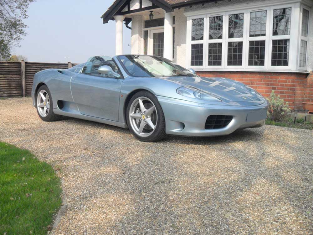 2002 Ferrari 360 F1 Spider-Two owners.-�39,990