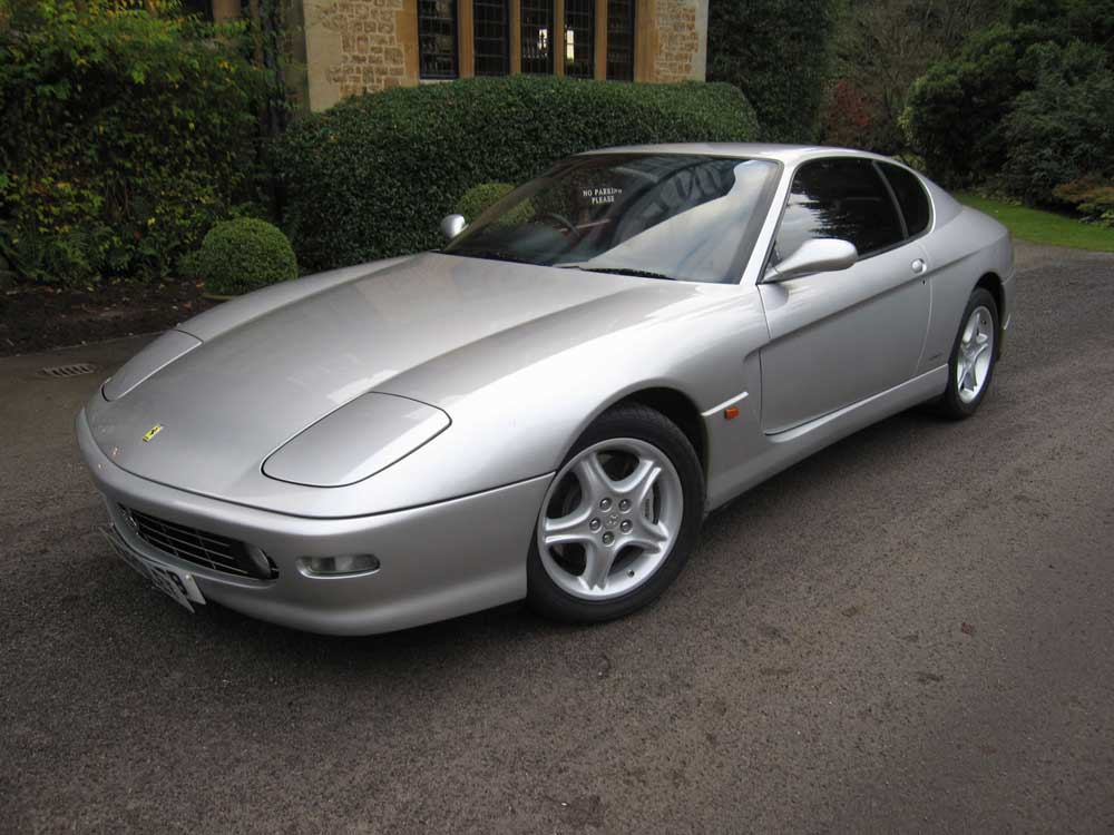 In the showroom now is this 2002 Ferrari 456 M GT.....