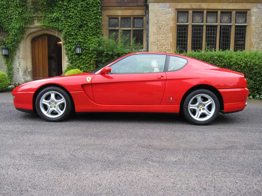 SOLD-ANOTHER REQUIRED 2002 Ferrari 456 M GT