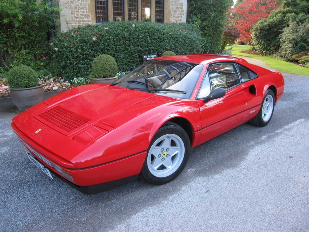 1986 Ferrari 328 GTB-The first in the country