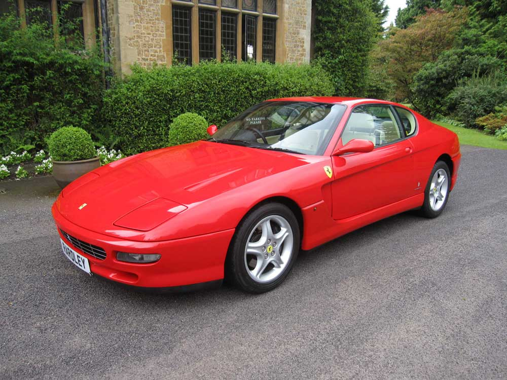 In the showroom now -1995 Ferrari 456 GT 6-speed manual-