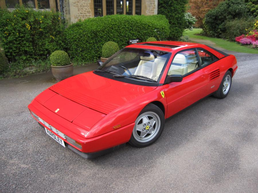 1990 Ferrari Mondial 3.4t coupe-one of the 52.