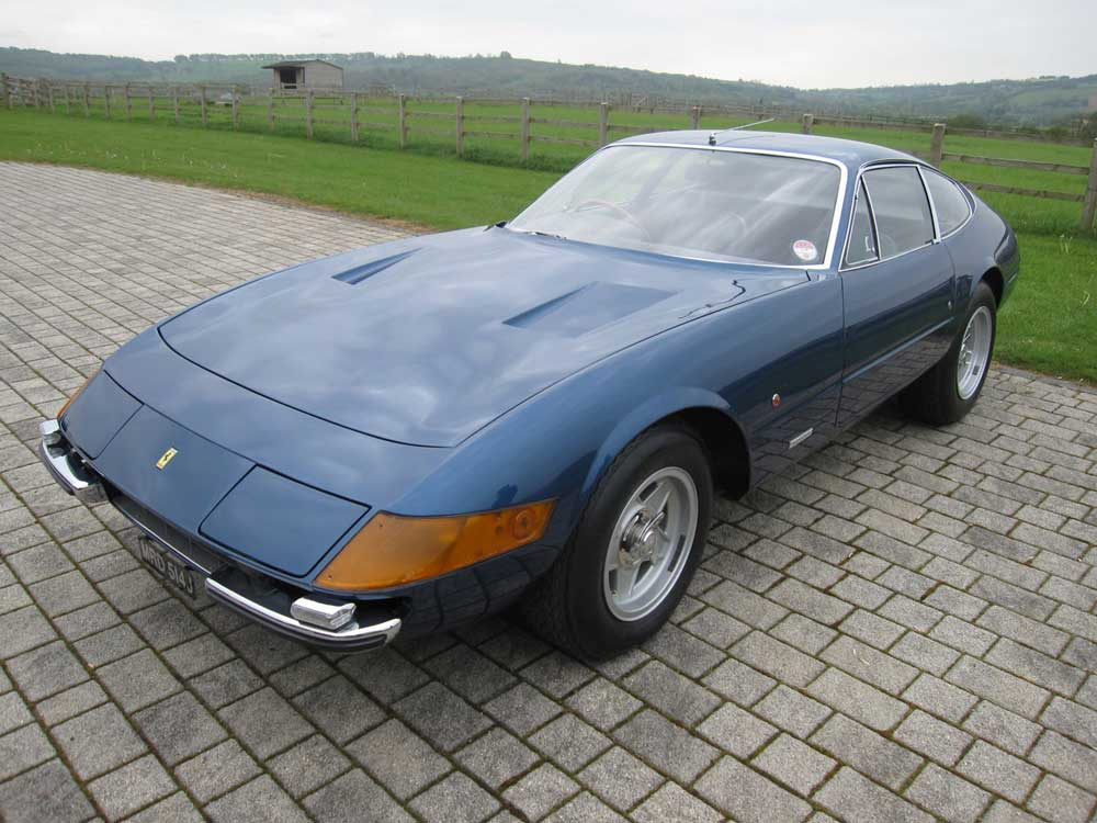 "1971 Ferrari 365 GTB/4 Daytona-the first ""pop -up"" headlamp example in the UK"
