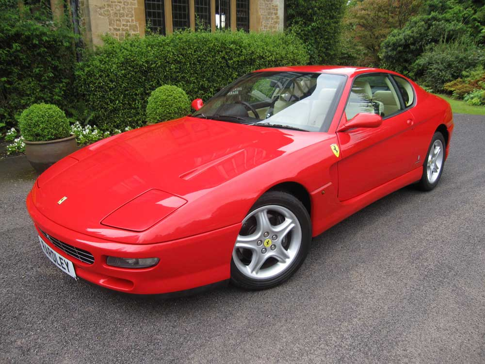 1995 Ferrari 456 GT 6-speed manual-25,000 miles