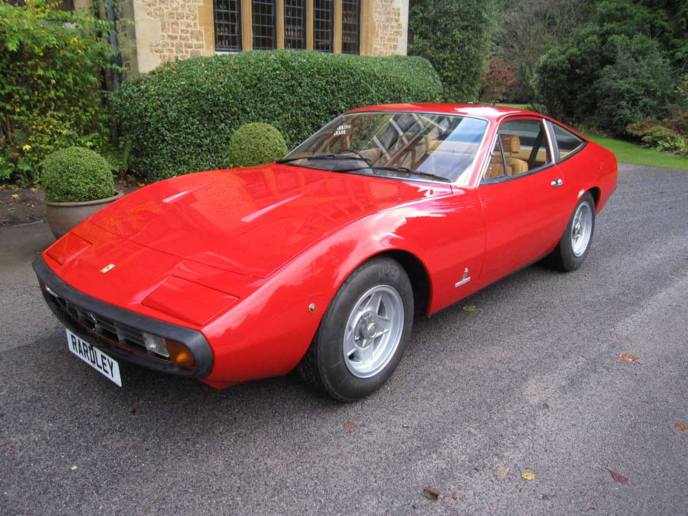 1973 Ferrari 365 GTC/4 -One owner from new
