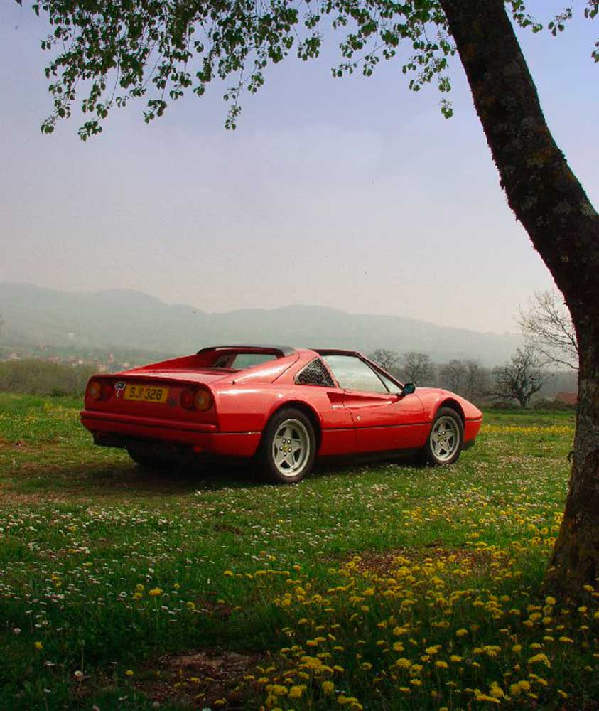 1987 Ferrari 328 GTS with 13,400 recorded miles