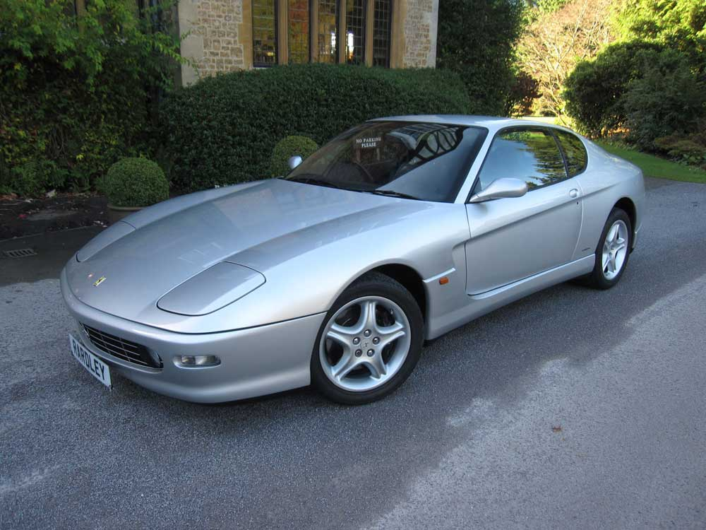 SOLD-ANOTHER REQUIRED 1999 Ferrari 456 M GTAutomatic