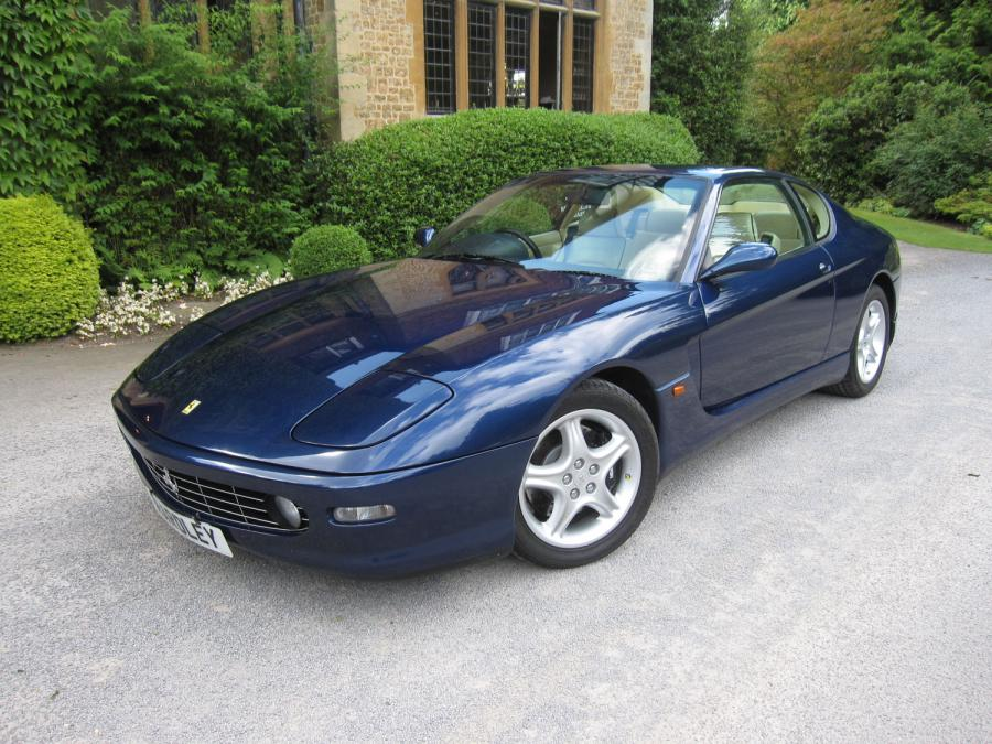 SOLD-ANOTHER REQUIRED 1999 Ferrari 456 M GT six speed manual One of  just 24 remaining