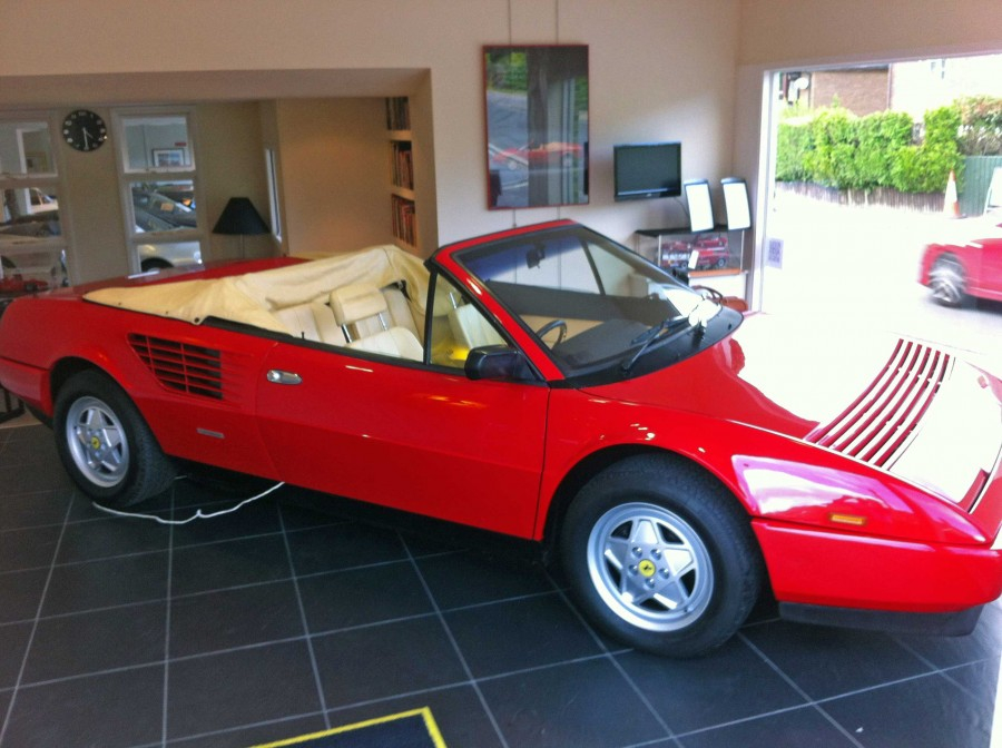 sold another required ferrari mondial 3 2 cabriolet 15 000 miles used ferrari specialist. Black Bedroom Furniture Sets. Home Design Ideas